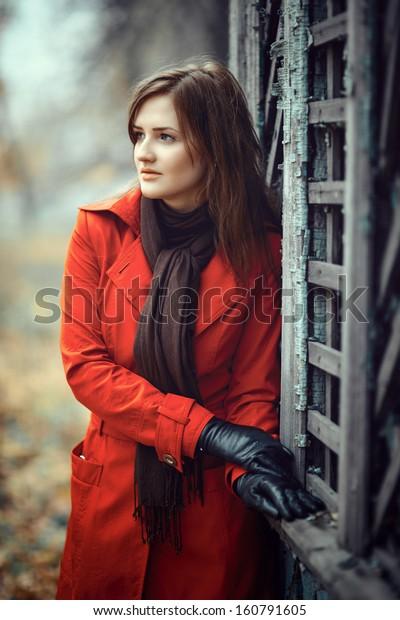 Portrait of a beautiful lady
