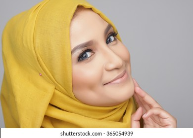 portrait of beautiful musliman woman