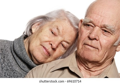 Portrait of a beautiful senior couple