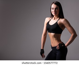 Fit Girl Belly Images Stock Photos Vectors Shutterstock Fit woman making heart shape with hands on belly closeup. https www shutterstock com image photo portrait beautiful slim sporty woman muscular 1560577772