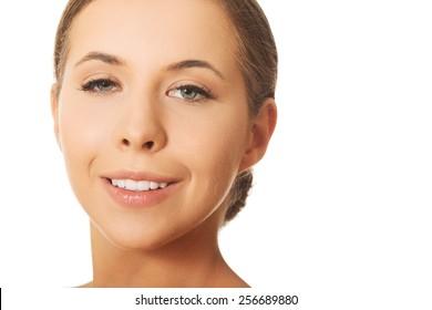 Portrait of beautiful wellbeing woman.
