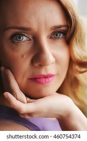 Portrait of a a beautiful woman