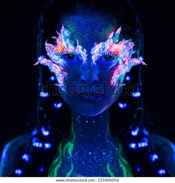 Abstract Glitch Tiktok Background Vector Illustration
