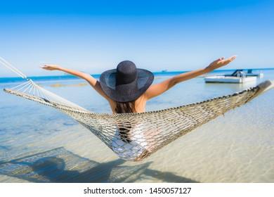 Hammock Images, Stock Photos & Vectors | Shutterstock