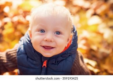 portrait of beautiful young boy
