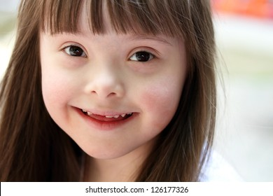Portrait of beautiful young girl