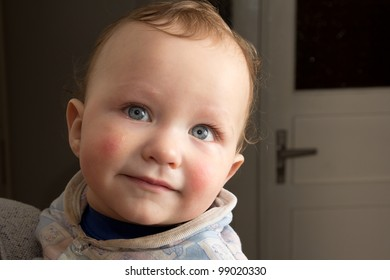 portrait of a boy baby