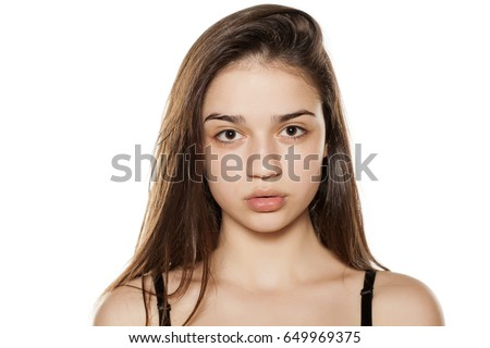 girls without makeup on
