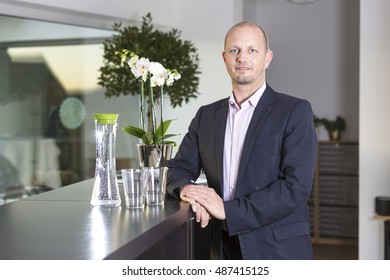 Portrait businessman at the office