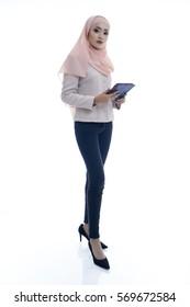 Portrait of a businesswoman. concept for business.