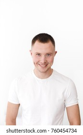Portrait of casual man posing while looking at camera.