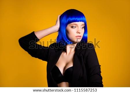 Sexy black hair bitch
