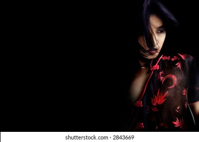 Portrait of a chinese beauty