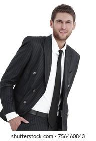 portrait of confident business man.