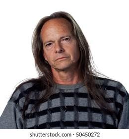 Portrait of a confident native american man