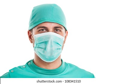 Mask Isolated amp; Surgeon Images Vectors Portrait Stock Photos