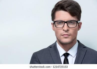 portrait of a confident young businessman.