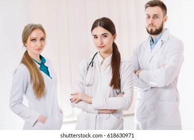 Portrait of doctors.