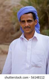 Portrait of Egyptian bedouin