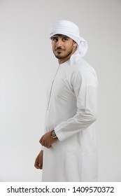 Portrait of an Emirati man.