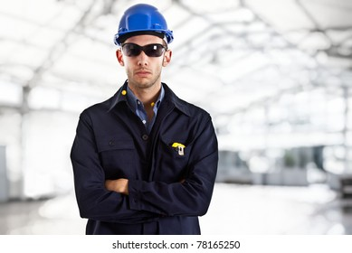 Portrait of an engineer