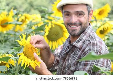 portrait of a farmer