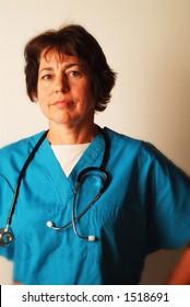 portrait of Female Medical Professional