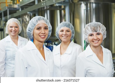 portrait of female pharmaceutical factory worker in pharmacy industry manufacture factory