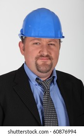 Portrait of a foreman in suit