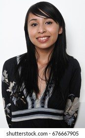 Portrait of a franco-vietnamese woman
