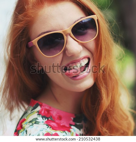 Redhead girl with glasses final