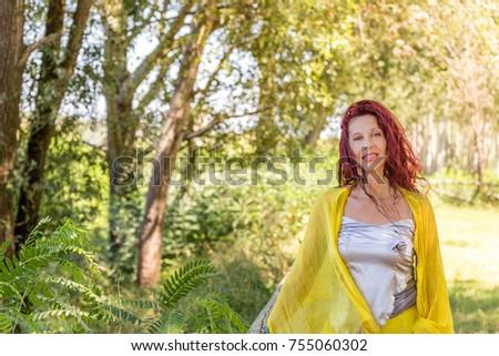 German mature redhead