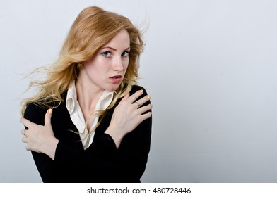portrait of a girl in a jacket