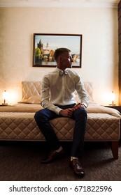 portrait of the groom