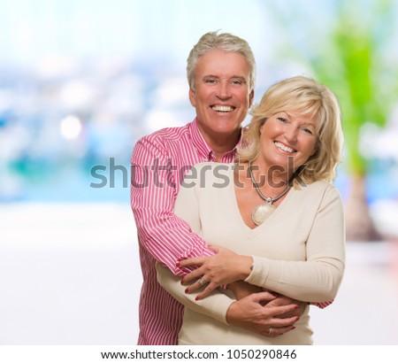 NATALIA: Outdoor mature couple