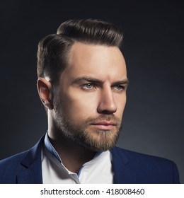 Man Hair Style Images Stock Photos Vectors Shutterstock