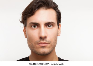 Portrait of an handsome young man