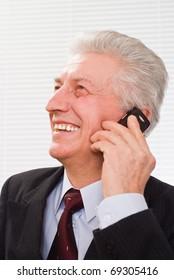 Portrait of a happy business man