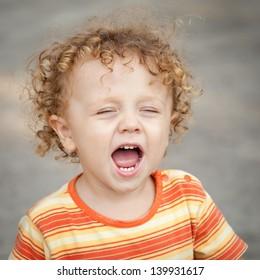 Portrait of happy child