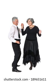 Portrait of a happy elderly couple spending time together