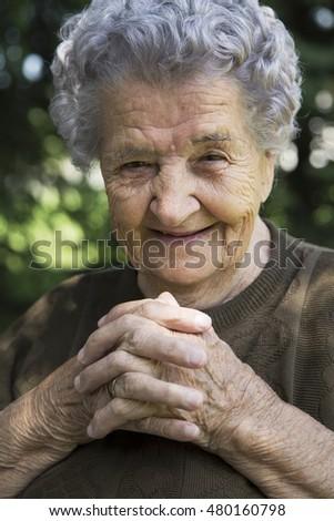 elderly women pics