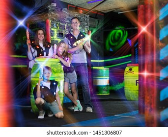 Laser Tag Kids Images, Stock Photos & Vectors | Shutterstock
