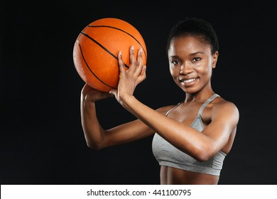 woman holding basketball images stock photos vectors shutterstock