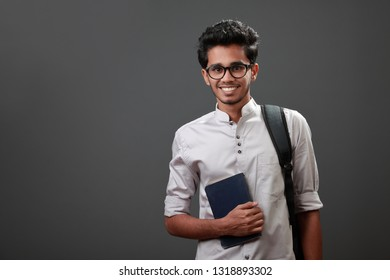 Portrait of a happy young student