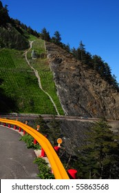 Portrait- Hehuan(Central Taiwan) mountain texture