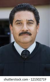 Portrait of a hispanic businessman
