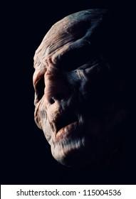 Portrait of horror monster