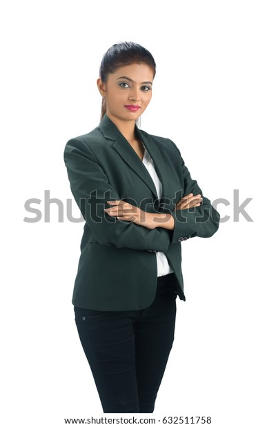 Portrait of a indian businesswoman,I love my job