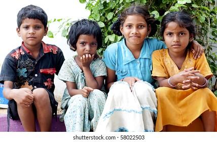 Portrait of an Indian Kids