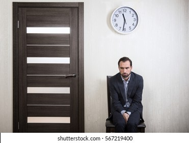 Portrait of an insecure man waiting for a job interview & Insecure Images Stock Photos \u0026 Vectors | Shutterstock